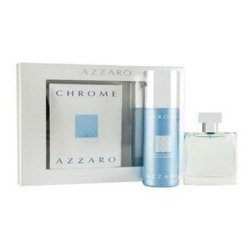 Azzaro Chrome 100ml woda toaletowa + 150ml dezodorant spray [M] ZESTAW